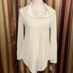 New BCX cowl collar long sleeve sweater